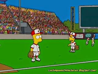 Chicos de Asco, bart jugando béisbol
