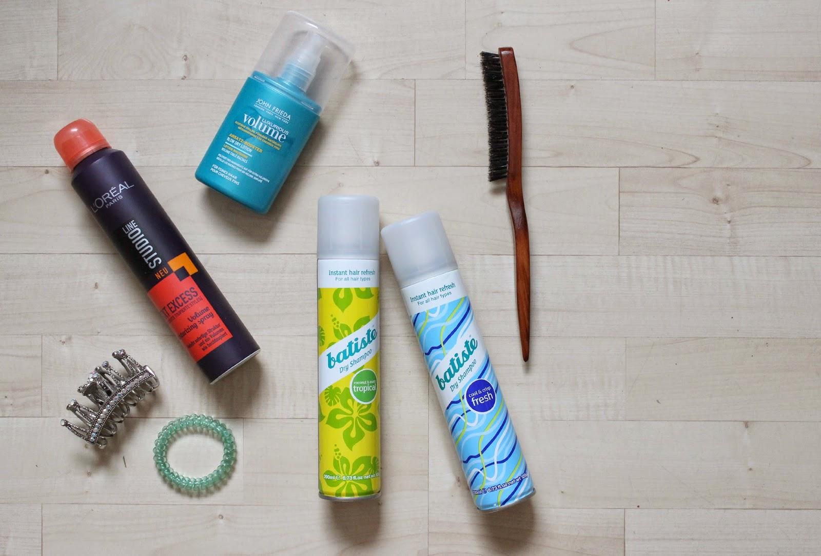 hair products batiste john frieda L'oreal
