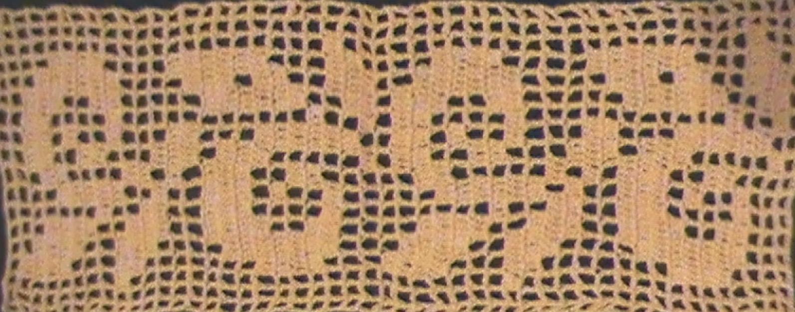 Crochet Hoy: ENTREDÓS AL CHOCHET