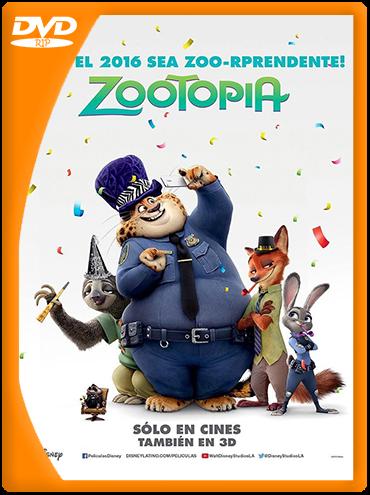 Zootopia DVDRip (2016) Español Latino