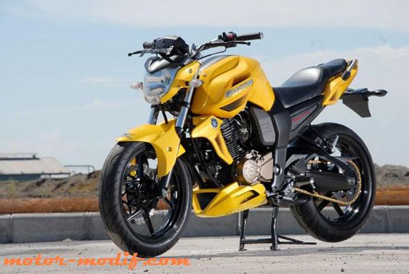 referensi modifikasi motor byson warna kuning