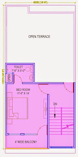 Up Country, Yamuna Expressway :: Floor Plans,Villa  810 Sq. Ft. (90 Sq. Yds.): Total Buildup Area by us-2795 Sq.ft:-Second Floor Plan