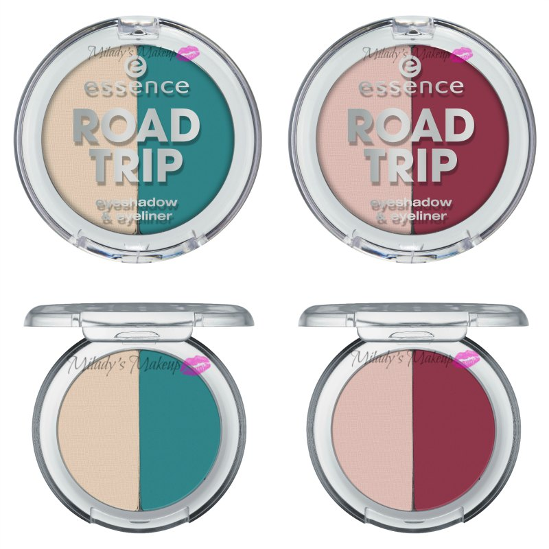 Essence Road Trip duo eyeshadow eyeliner