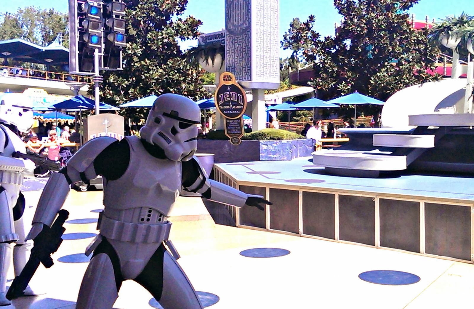 Star Wars Jedi Training Academy at Disneyland