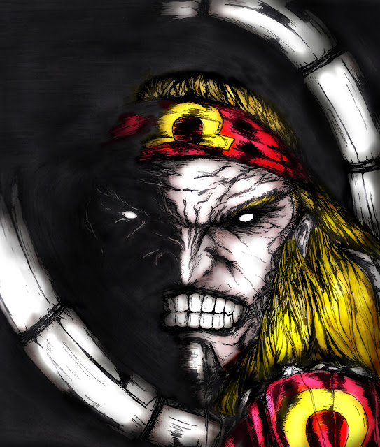 Omega Red Character Review (Scary Face)