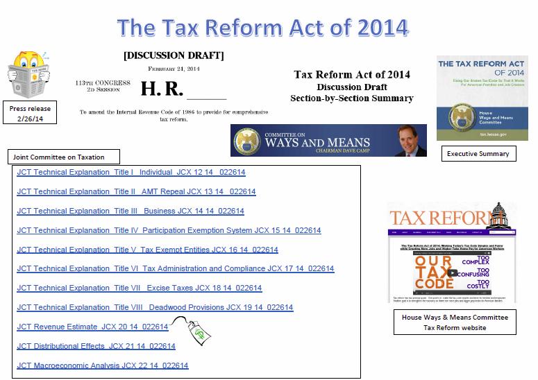 http://www.cob.sjsu.edu/nellen_a/taxreform/TaxReformAct2014_Links.pdf