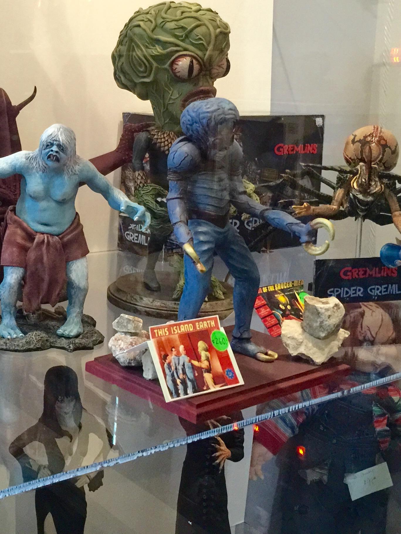 There's plenty of sci-fi memorabilia, too