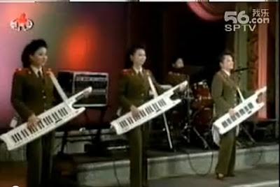 北韓 人民軍 少女時代(北韓人民軍也搞「少女時代」)