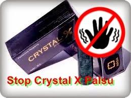 Waspada... Wajib Dibaca!!! Crystal X Palsu Beredar Dipasaran...