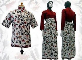 PO A27 MODEL BAJU BATIK WANITA MODERN