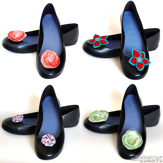 Shoe Clips for Women and Girls at SweeterThanSweets on Etsy