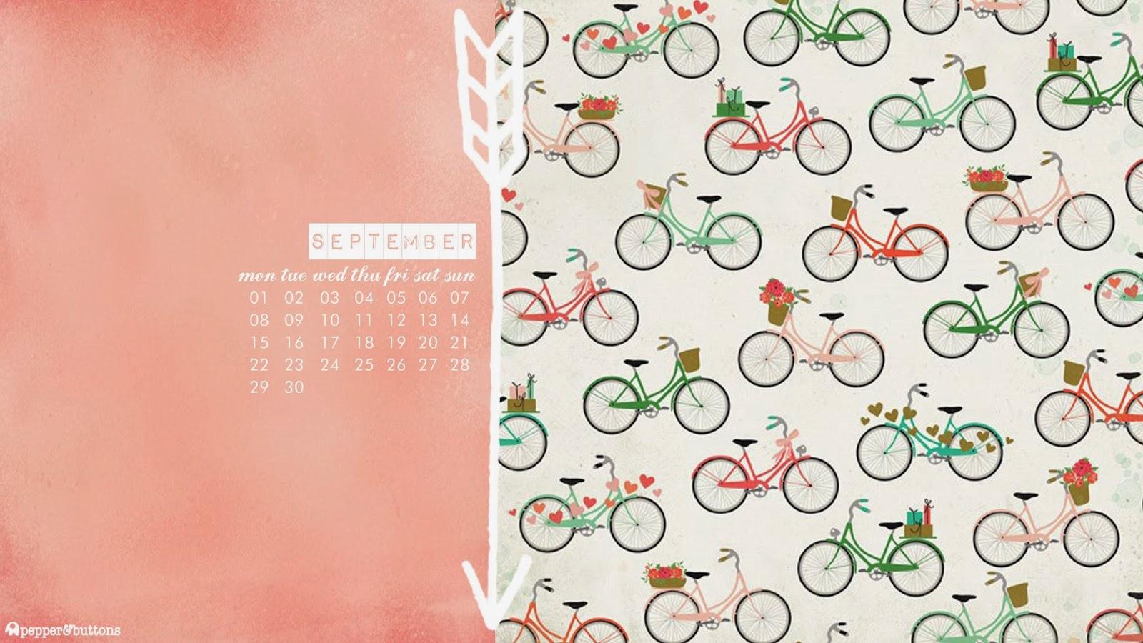 September 2014 Desktop Calendar September 2014 Desktop
