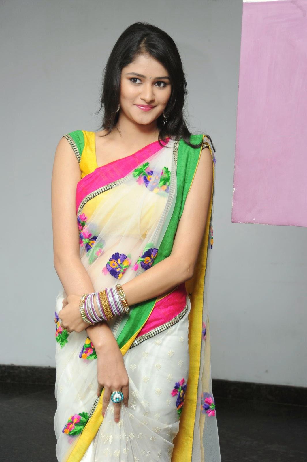 Kushi glamorous saree photos-HQ-Photo-19