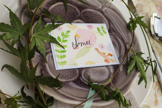 Midsummer Party - A Fragrant & Tasty Soirée - Place Setting - Aimee Ferre