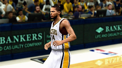 NBA 2K13 DJ Augustin Cyberface + Enhanced Tats