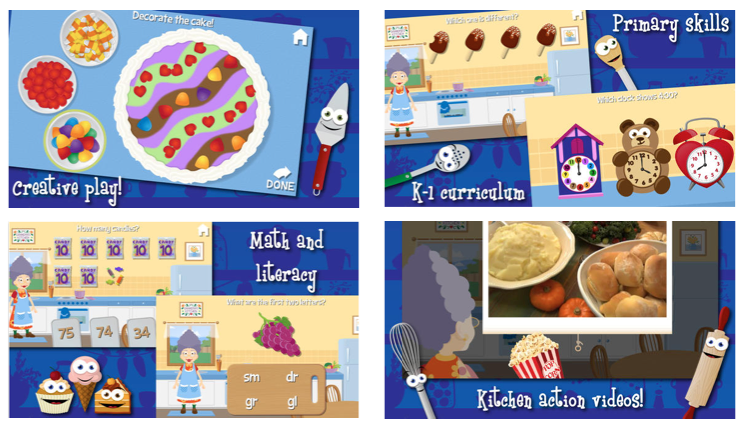 Grandma's Kitchen app on sale