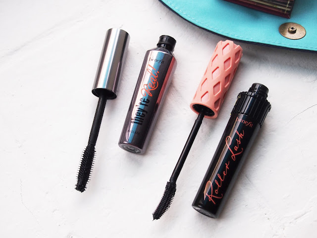 Get longer thicker lashes with benefit cosmetics they're real mascara and roller lash mascara. if you have short, soft and thin lashes get these two mascara and you will have an amazing both upper and lower lashes. they're real mascara is for lengthening and roller lash (perfect for asian eyes) is for volume.
