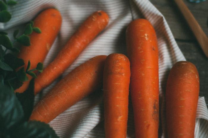 Crema fácil de zanahoria
