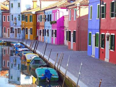 Foto colorida de Venezia
