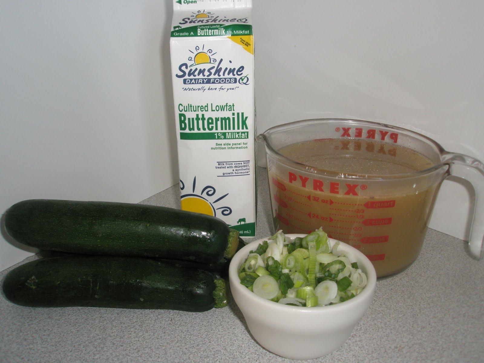 Got it, Cook it: Chilled Zucchini Buttermilk Soup