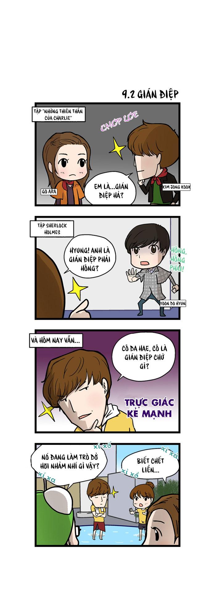 Running Man chap 9 - Trang 2