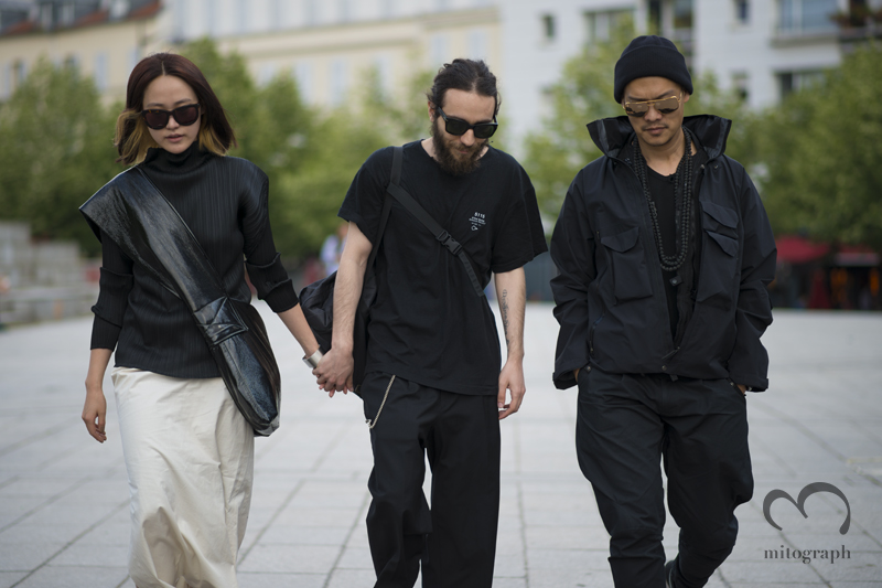 mitograph Before Rick Owens Paris Mens Fashion Week 2014 Spring Summer Street Style Shimpei Mito