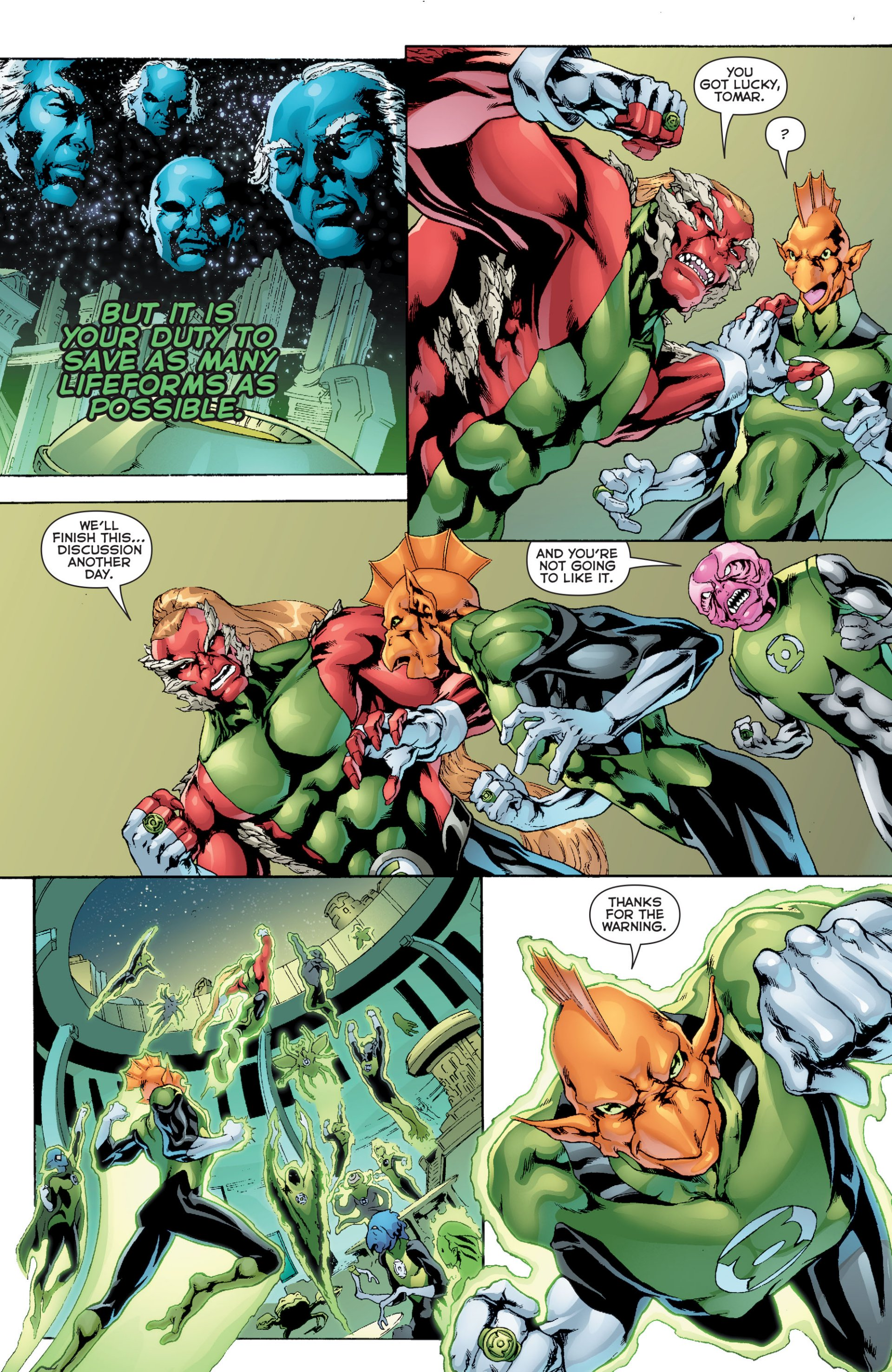 Read online Green Lantern Corps (2006) comic -  Issue #63 - 20