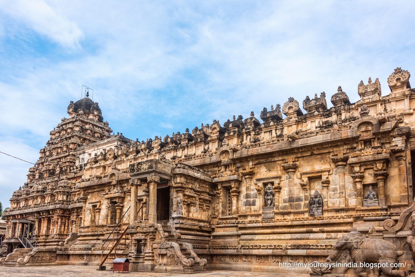 Darasuram Inner Prakaram View