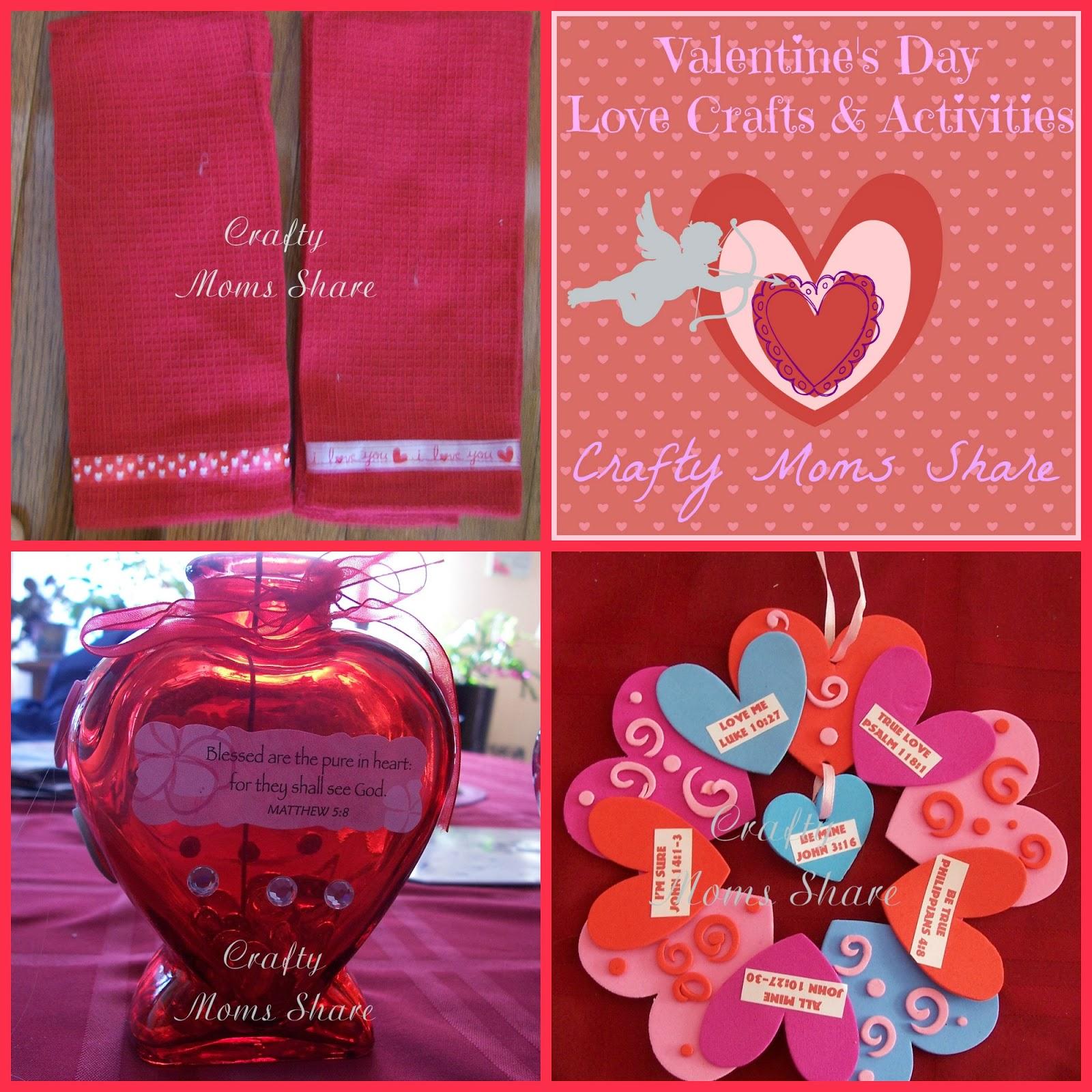 crafty moms share valentine u0027s day crafts