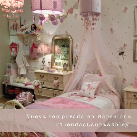 Laura Ashley Barcelona Decoración