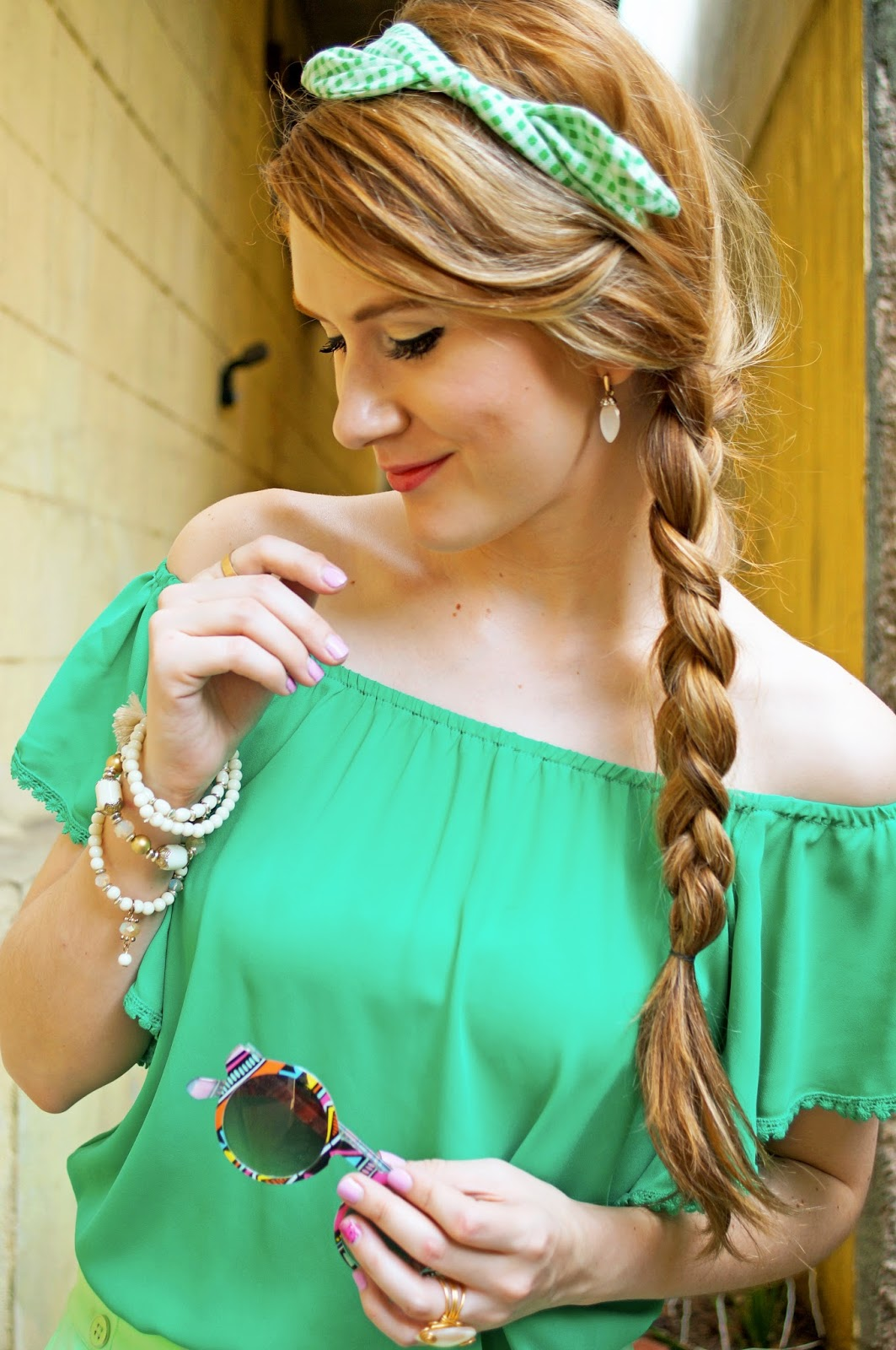 Cute Summer Braid Hairstyle