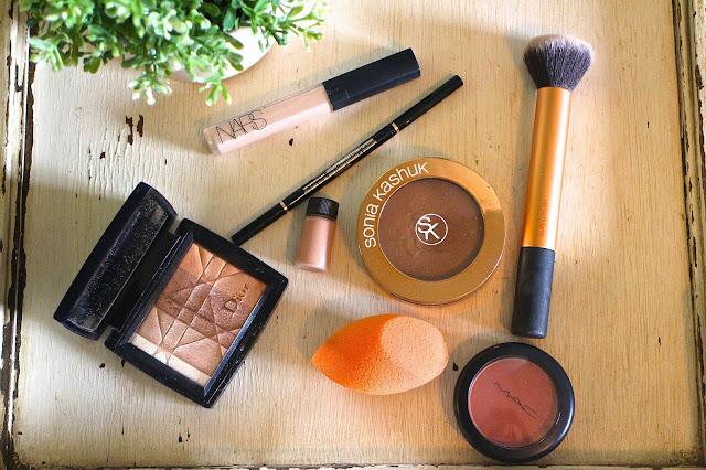spring face makeup