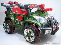 Mobil Mainan Aki Junior QX7566A Rocket Jeep
