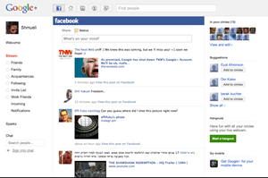 Google+Facebook Feeds Extension