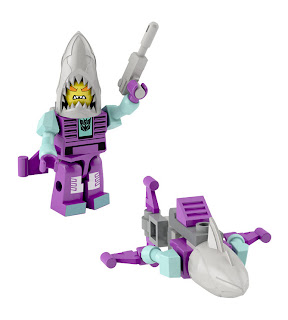 Hasbro Transformers Kre-O Micro Changers Combiners Series 2 - Overbite (Seacons)