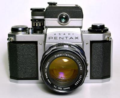 история pentax