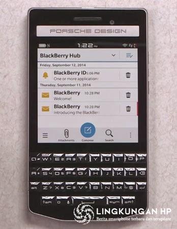 Smartphone Andalan Blackberry Porsche Design P'9983