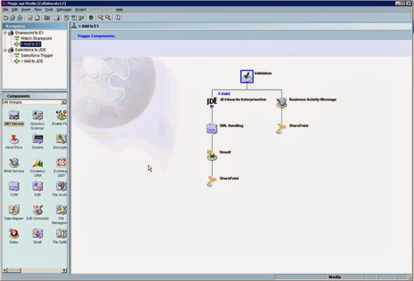 JDE E1 WorldSoftware connectivity interface integration