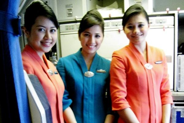 Pramugari Garuda Indonesia. ZonaAero
