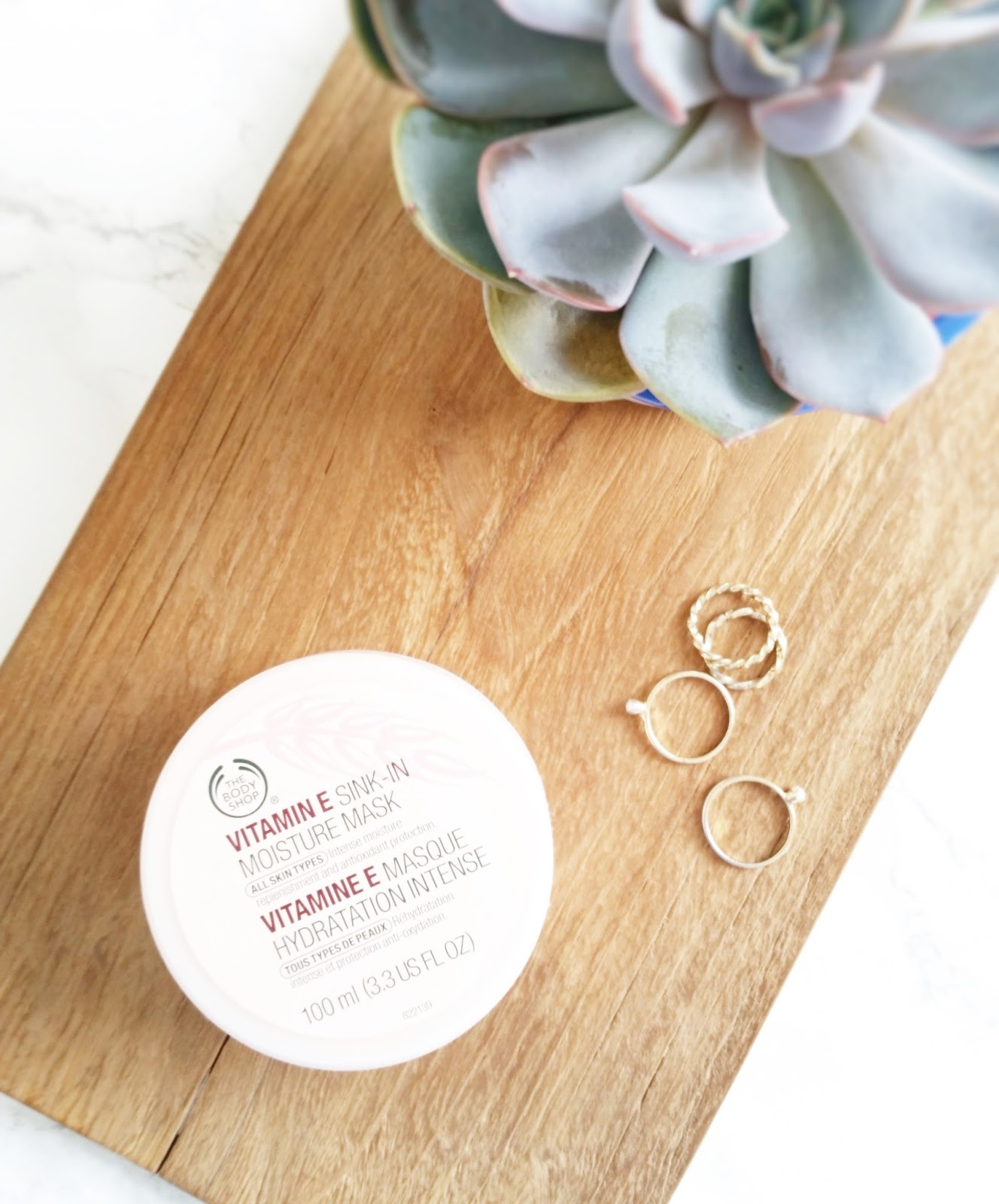 The Body Shop Vitamin E Sink-In Moisture Mask
