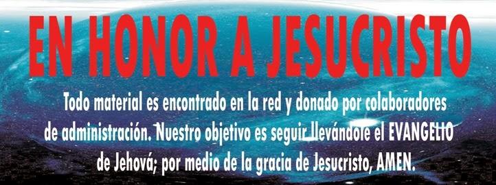 En Honor A Jesucristo