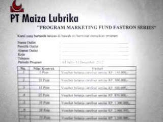 Promo Fastron Series 2012 - Maiza Lubrika