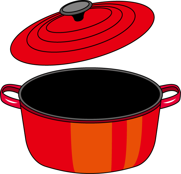 Cooking pot clip art  Etsy