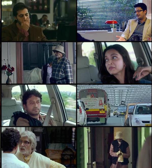 Piku Hindi BRRip 480p