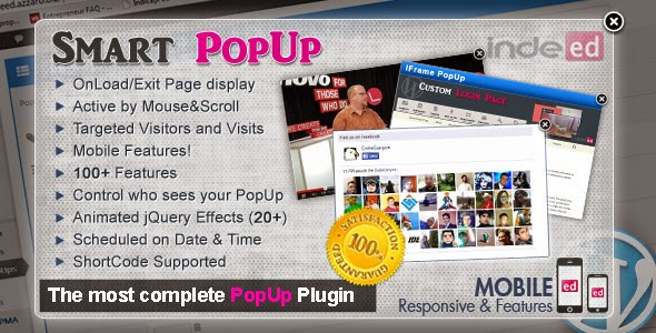 Indeed Smart PopUp - WordPress Plugin