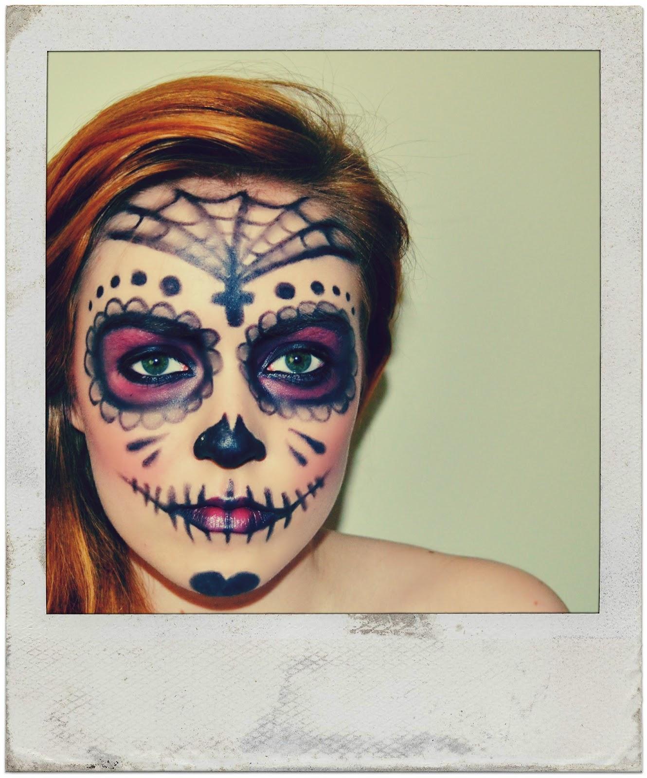 call me conboy sugar skull make up idea