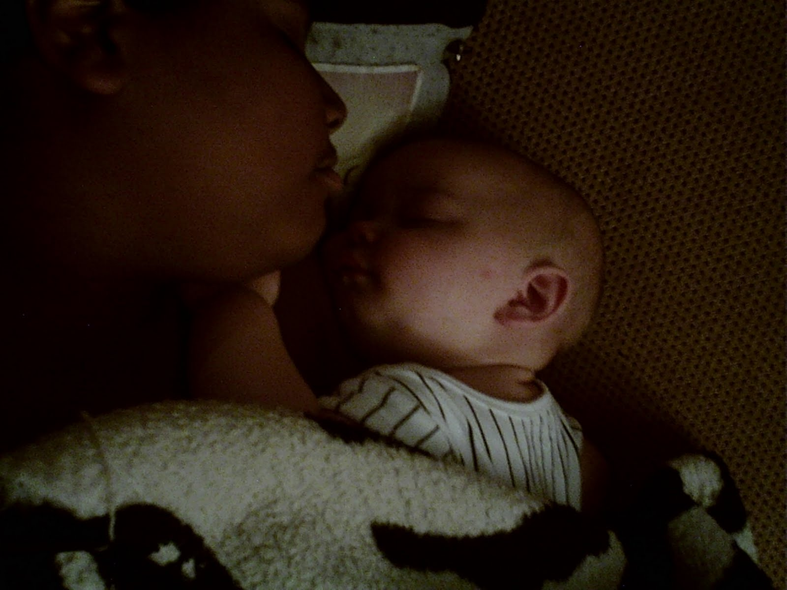 Beautiful Picture of Brothers Sleeping, Wordless Wednesday