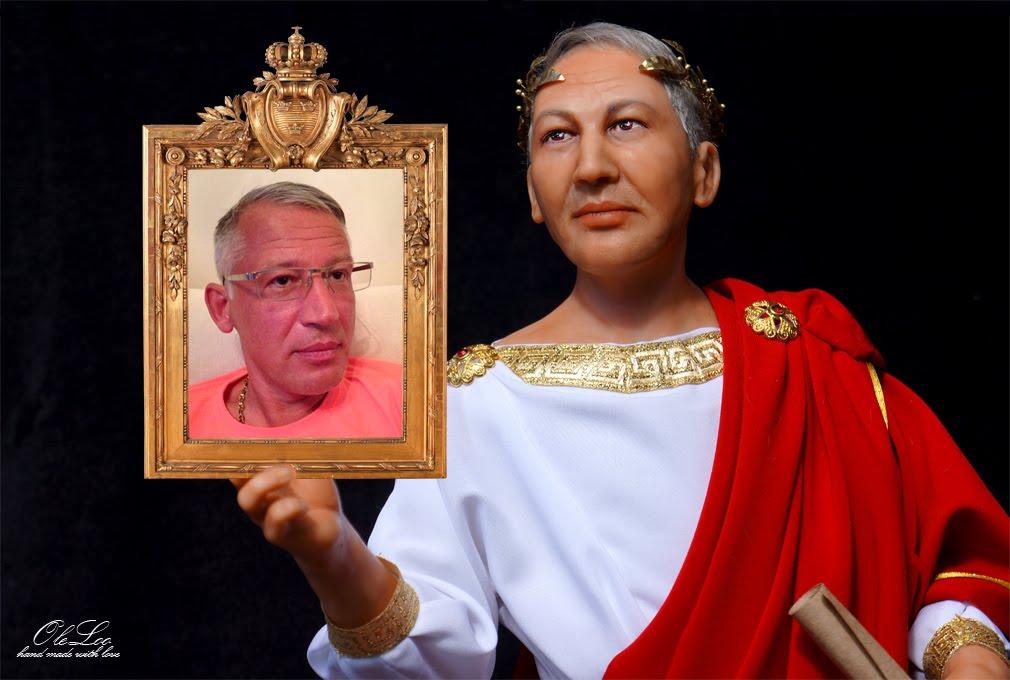 """Портретная кукла """"Цезарь"""""""