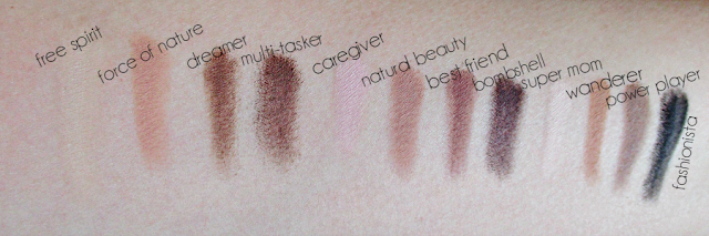 tarte tartlette amazonian clay matte eye shadow palette swatches notes from my dressing table