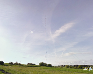 Burnhope transmitter mast